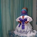 Goddess Yemanja placed on altar c. 2009